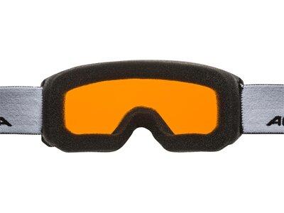 "ALPINA Kinder Skibrille/Snowbaordbrille ""Scarabeo JR DH"" Braun"
