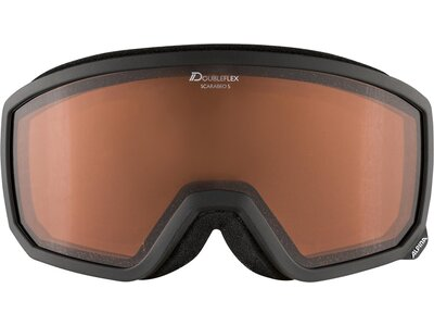 "ALPINA Skibrille/Snowboardbrille ""Scarabeo S DH"" Braun"