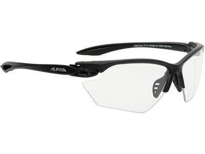 "ALPINA Sportbrille / Sonnenbrille ""Twist Four VL+ small"" Grau"