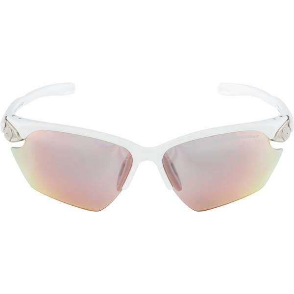 ALPINA Sportbrille TWIST FIVE HR S white matt-silver QVMRB+