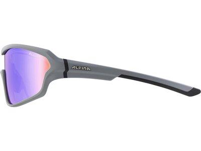 "ALPINA Sportbrille / Sonnenbrille ""Lyron Shield"" Lila"