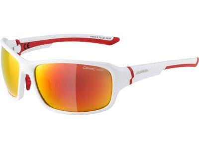 """ALPINA Sportbrille / Sonnenbrille """"Lyron-Mirror"""" Braun"""