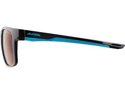 ALPINA Kinder Brille FLEXXY COOL KIDS I Schwarz