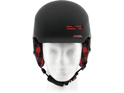 ALPINA Kinder Helm Spam Cap Junior Grau