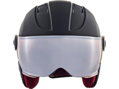 "ALPINA Ski- und Snowboardhelm ""Carat LE Visor HM."" Grau"