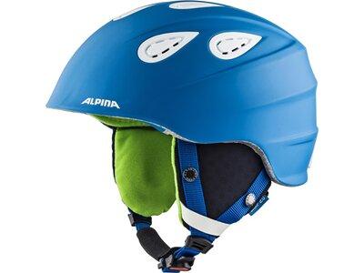 "ALPINA Ski- und Snowboardhelm ""Grap 2.0"" Blau"
