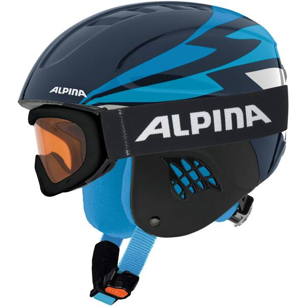 ALPINA Skihelm CARAT SET