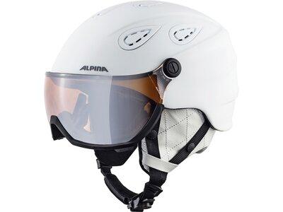 ALPINA Skihelm Grap Visor 2.0 HM Grau
