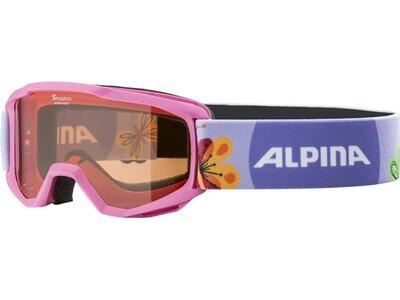"ALPINA Kinder Skihelm mit Skibrille ""Carat Set Disney"" Blau"