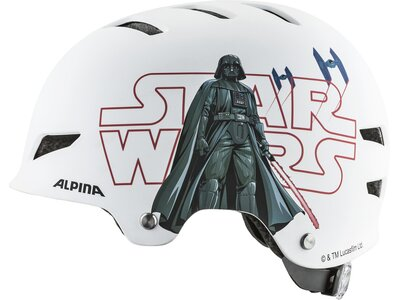 ALPINA Kinder Fahrradhelm ALPINA PARK JR. Disney Donald Duck Schwarz