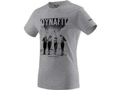 DYNAFIT Herren Shirt HERITAGE Grau