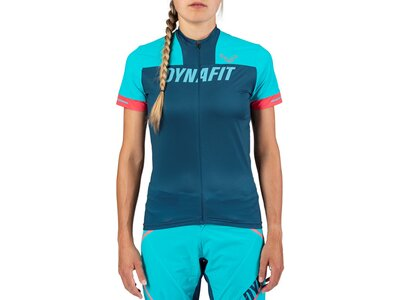 DYNAFIT Damen Shirt RIDE W S/S Blau