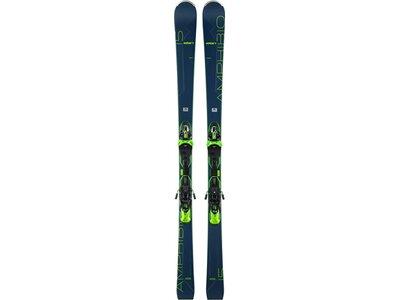 ELAN Herren All-Mountain Ski Amphibio 15 TI Fusion X EMX 11.0 GW Blau