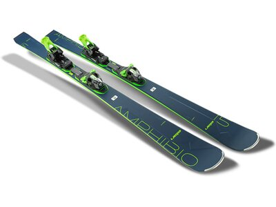 ELAN Herren All-Mountain Ski Amphibio 15 TI FX EMX 11.0 GW Blau