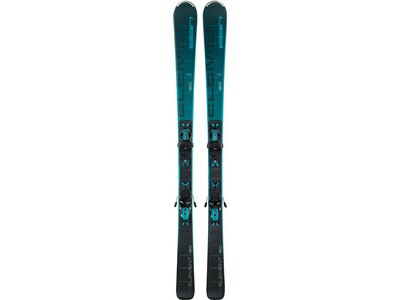ELAN Damen All-Mountain Ski Element black/blue LS ELW 9.0 GW Grau