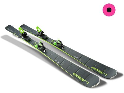 ELAN Herren All-Mountain Ski Element black LS EL 10.0 GW Grau