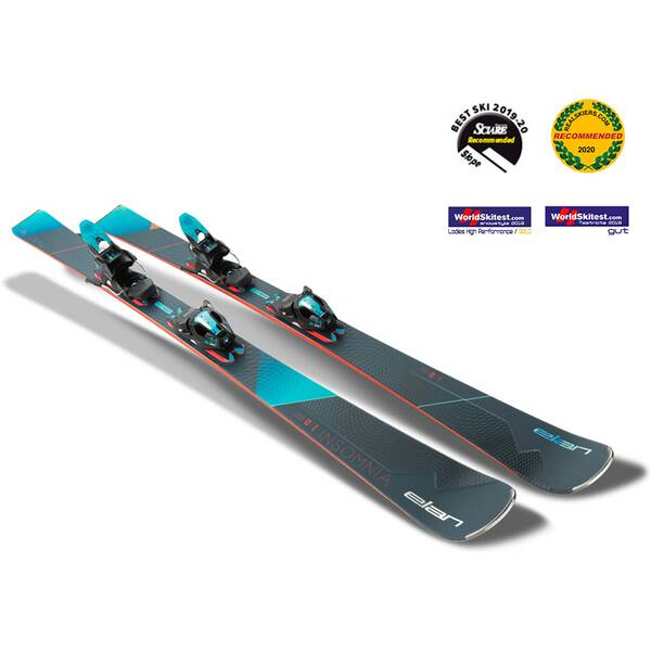 ELAN Damen All-Mountain Ski Insomnia PS ELW 11.0 GW