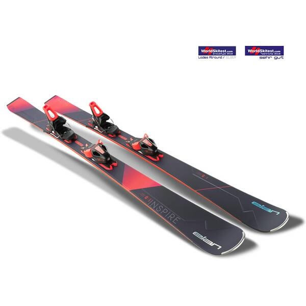 ELAN Damen All-Mountain Ski Inspire PS ELW 10.0 GW
