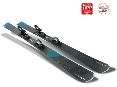 ELAN Damen All-Mountain Ski Imagine Power Shift ELW 9.0 GW Grau