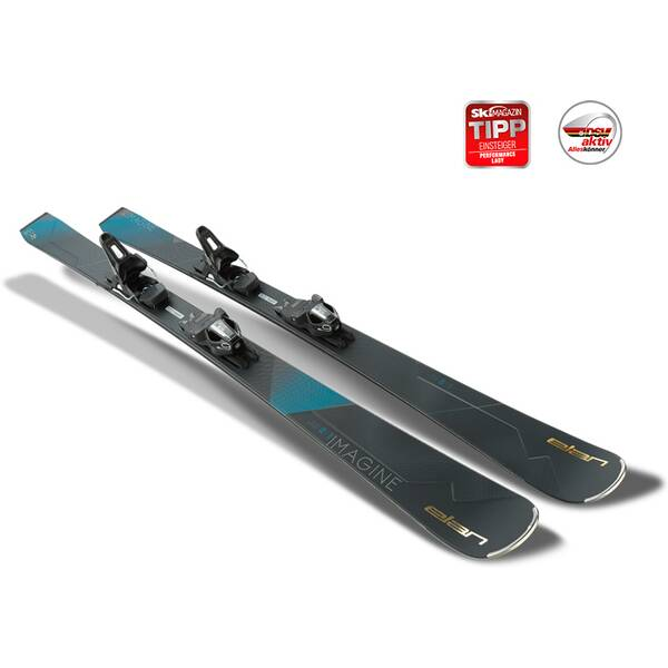 ELAN Damen All-Mountain Ski Imagine Power Shift ELW 9.0 GW