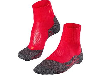 FALKE TK2 Short Cool Damen Socken Grau