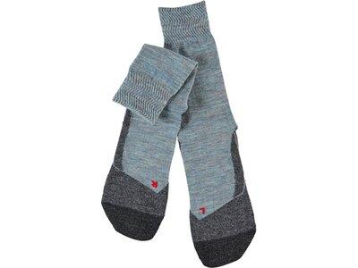 FALKE TK2 Melange Damen Socken Grau