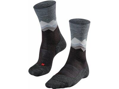 FALKE TK2 Crest Herren Socken Schwarz