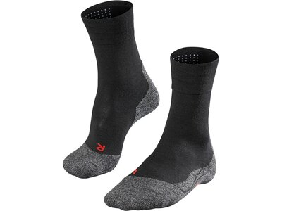 FALKE Damen Wandersocken TK2 Sensitive Schwarz