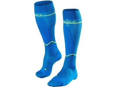 FALKE Herren Kompressions-Skistrümpfe Engergizing Blau