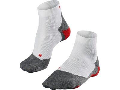 FALKE RU5 Lightweight Short Herren Socken Silber