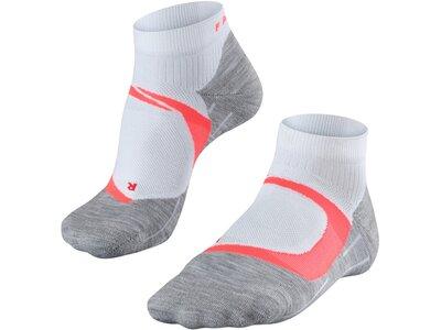 FALKE RU4 Cool Short Damen Socken Silber