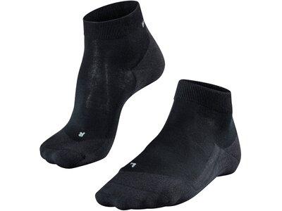 FALKE RU4 Light Short Damen Socken Schwarz