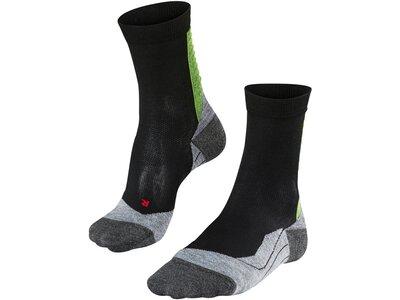 FALKE Herren Socken Achilles Schwarz