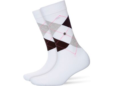 BURLINGTON Damen Socken Queen Weiß