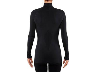 FALKE Damen Unterhemd MW Zip Shirt w Schwarz