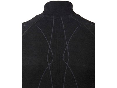 FALKE Damen Unterhemd WT Zip Shirt w Schwarz