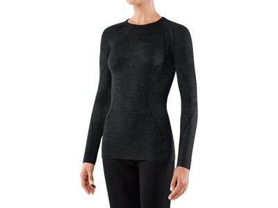 FALKE Damen Unterhemd WT Longsl. C w Schwarz
