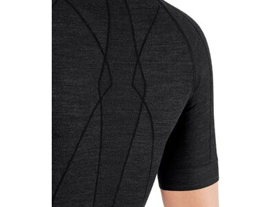 FALKE Damen Unterhemd WT Shortsl. C w Braun