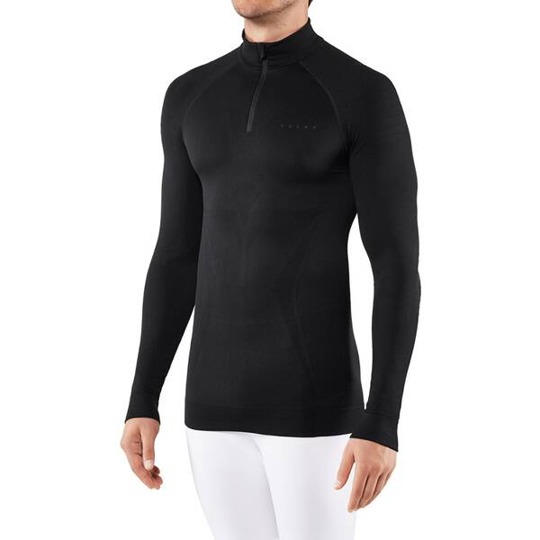 FALKE Herren Unterhemd MW Zip Shirt m