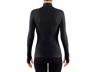 FALKE Damen Shirt W Zipshirt T w Schwarz