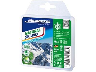 HOLMENKOL NATURAL SKIWAX 2X35 G Weiß