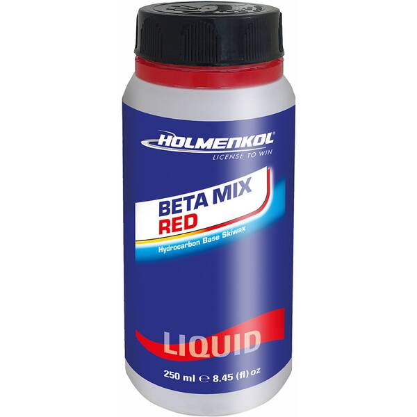 HOLMENKOHL Skiwachs Betamix Red liquid 250 ml