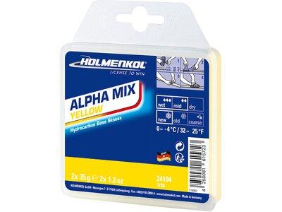 HOLMENKOL Alphamix Yellow 2x35 g Weiß