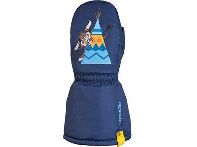 ROECKL SPORTS Kinder Skihandschuhe FASSA Blau
