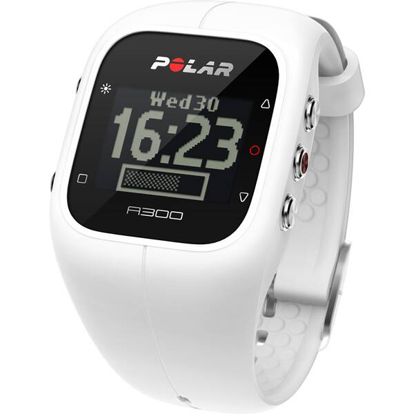 POLAR Multifunktionsuhr A300 Powder White Heart Rate