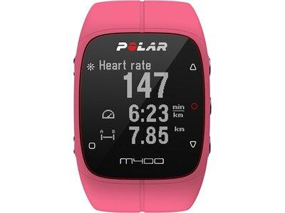 POLAR Activity Tracker M400 PNK HR Pink