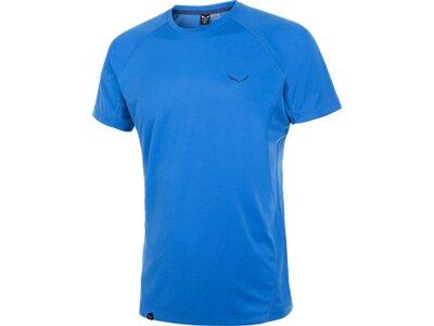 SALEWA Herren Shirt Puez Dry M S/s TEE Blau
