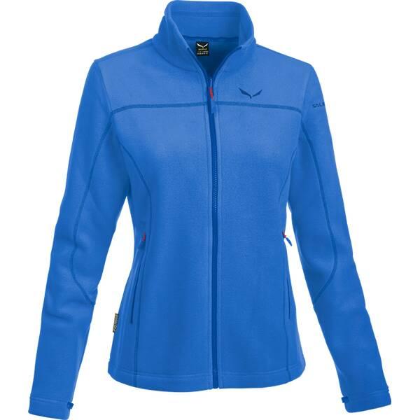 SALEWA Damen Unterjacke Fanes Buffalo Pl W FZ | Bekleidung > Pullover > Pullunder | Blue | SALEWA