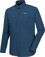 SALEWA Herren Shirt Agner DST Engineered M L/s Srt