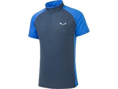 SALEWA Herren Shirt Pedroc Ptx/dry M S/s Hz TEE Blau